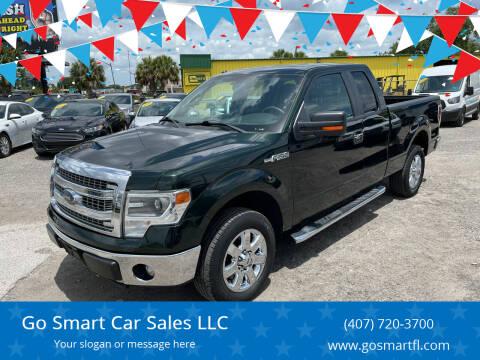 2014 Ford F-150 for sale at Go Smart Car Sales LLC in Winter Garden FL