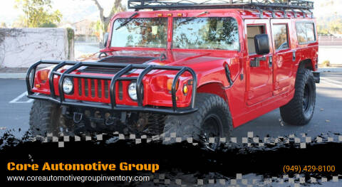 1996 AM General Hummer for sale at Core Automotive Group - Hummer in San Juan Capistrano CA