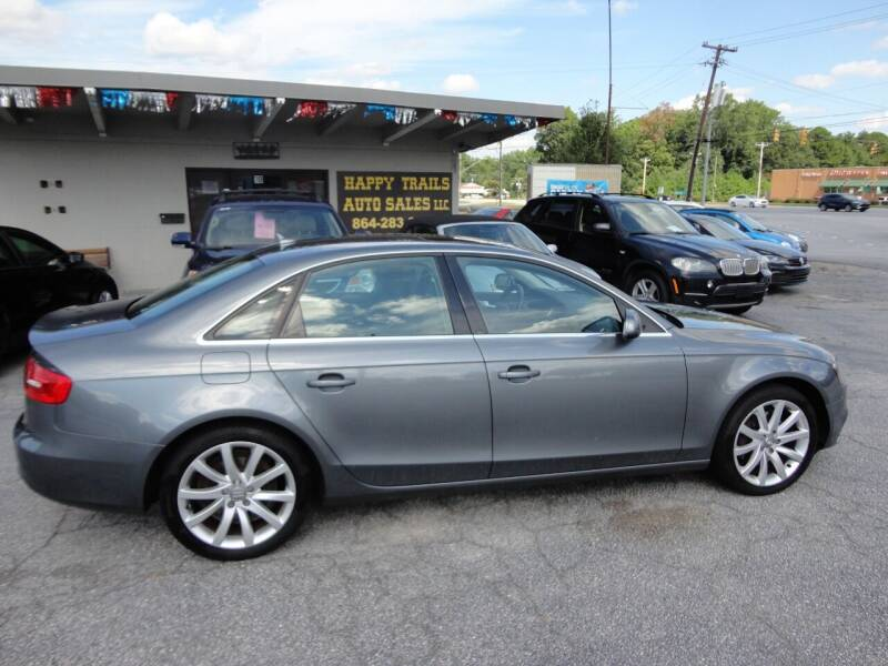 2013 Audi A4 for sale at HAPPY TRAILS AUTO SALES LLC in Taylors SC
