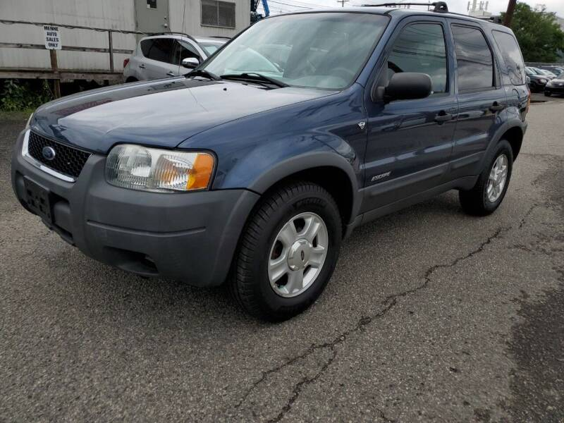 2001 Ford Escape for sale at MENNE AUTO SALES in Hasbrouck Heights NJ