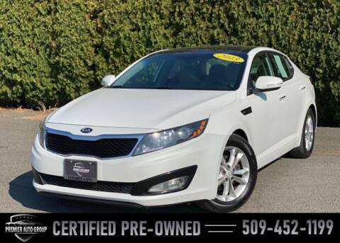 2013 Kia Optima for sale at Premier Auto Group in Union Gap WA