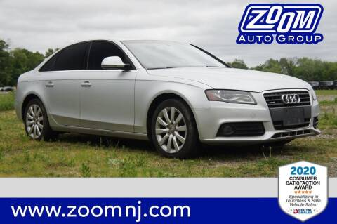 2009 Audi A4 for sale at Zoom Auto Group in Parsippany NJ