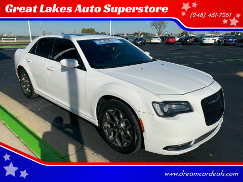 2017 Chrysler 300 for sale at Great Lakes Auto Superstore in Pontiac MI