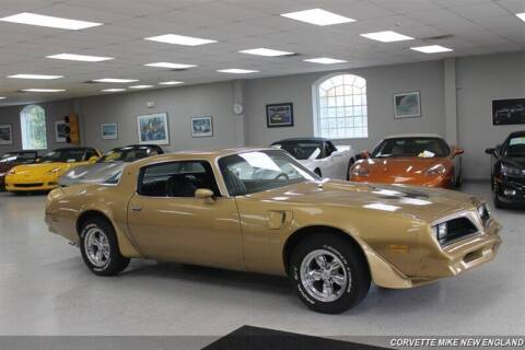 1978 Pontiac Trans Am for sale at Corvette Mike New England in Carver MA