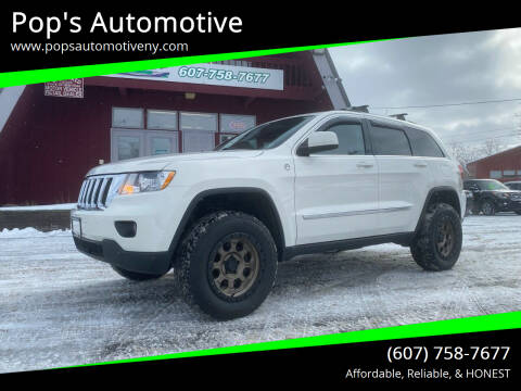 2011 Jeep Grand Cherokee for sale at Pop's Automotive in Homer NY