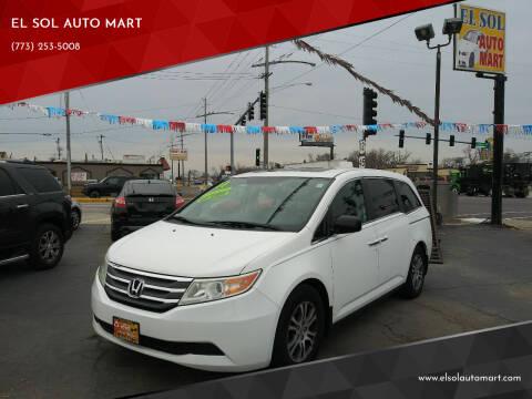 2011 Honda Odyssey for sale at EL SOL AUTO MART in Franklin Park IL