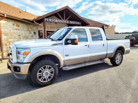 2014 Ford F-250 Super Duty for sale at Performance Motors Killeen Second Chance in Killeen TX