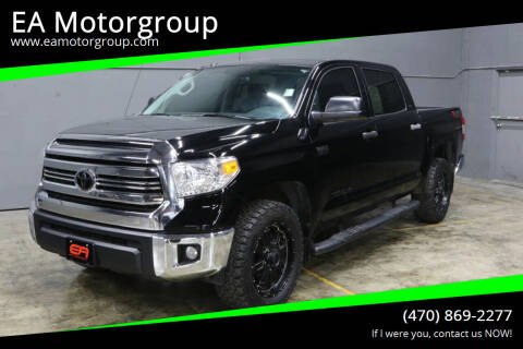 2016 Toyota Tundra for sale at EA Motorgroup in Austin TX