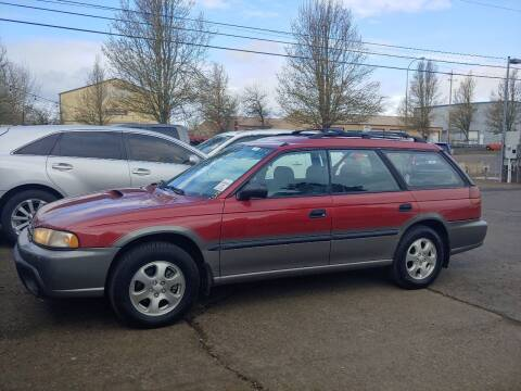 1997 Subaru Legacy for sale at M AND S CAR SALES LLC in Independence OR