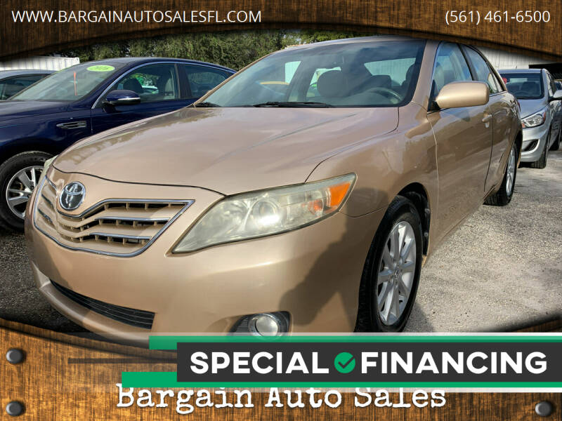 2010 Toyota Camry for sale at Bargain Auto Sales in West Palm Beach FL