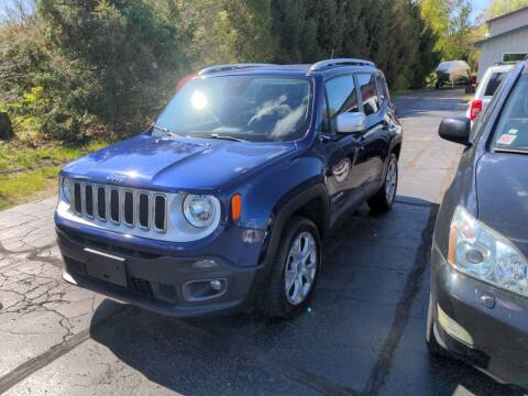 2016 Jeep Renegade for sale at West Point Auto Sales in Mattawan MI