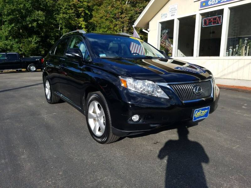 2010 Lexus RX 350 for sale at Fairway Auto Sales in Rochester NH