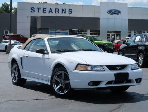 1999 Ford Mustang SVT Cobra for sale at Stearns Ford in Burlington NC