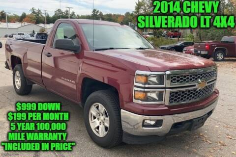 2014 Chevrolet Silverado 1500 for sale at D&D Auto Sales, LLC in Rowley MA