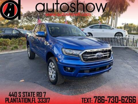 2020 Ford Ranger for sale at AUTOSHOW SALES & SERVICE in Plantation FL