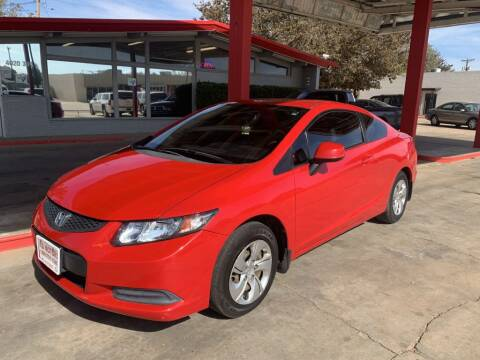 2013 Honda Civic for sale at KD Motors in Lubbock TX