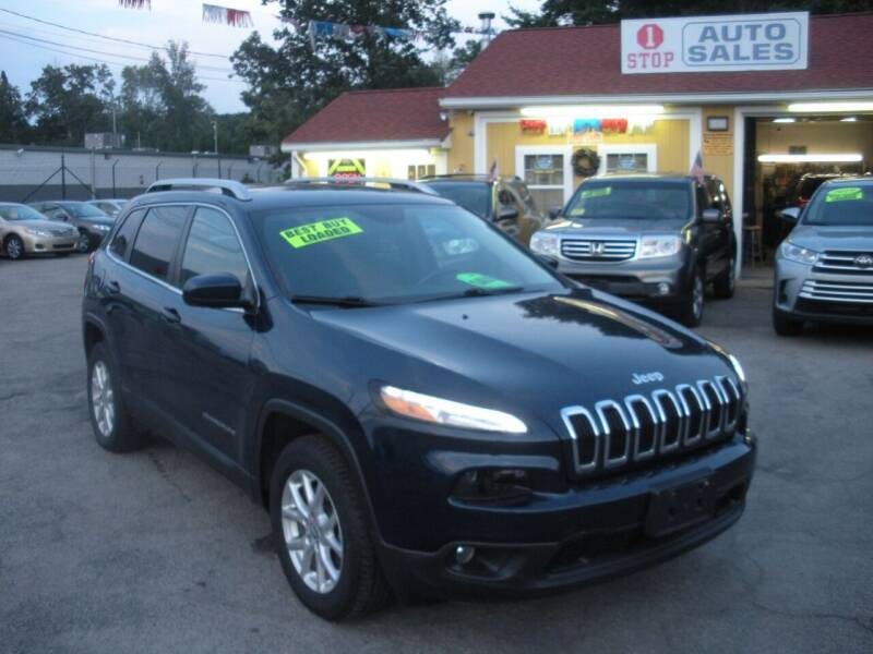 2018 Jeep Cherokee for sale at One Stop Auto Sales in North Attleboro MA