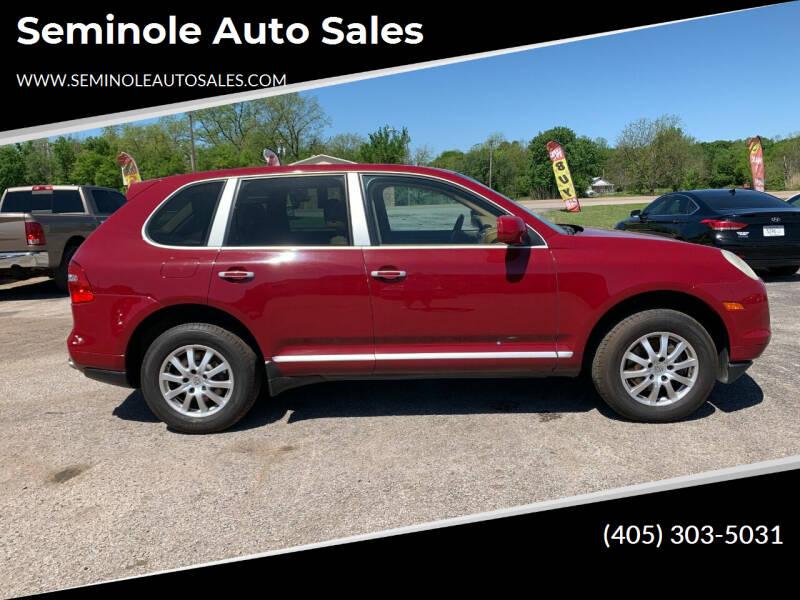 2009 Porsche Cayenne for sale at Seminole Auto Sales in Seminole OK