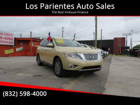 2013 Nissan Pathfinder for sale at Los Parientes Auto Sales in Houston TX