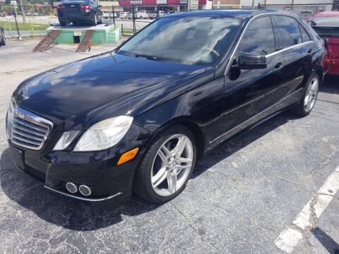 2010 Mercedes-Benz E-Class for sale at Castle Used Cars in Jacksonville FL