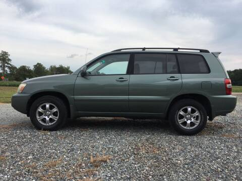 2007 Toyota Highlander for sale at Harris Motors Inc in Saluda VA