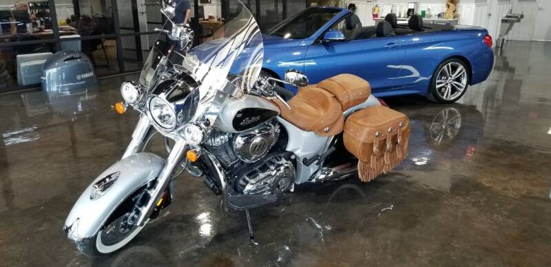 2016 Indian CHIEF for sale at 90 West Auto & Marine Inc in Mobile AL