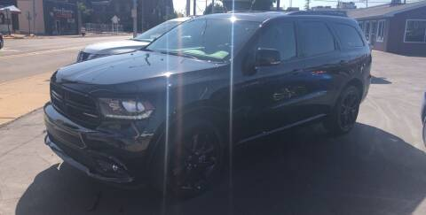2017 Dodge Durango for sale at N & J Auto Sales in Warsaw IN