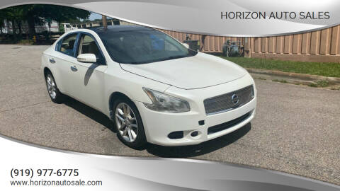 2011 Nissan Maxima for sale at Horizon Auto Sales in Raleigh NC