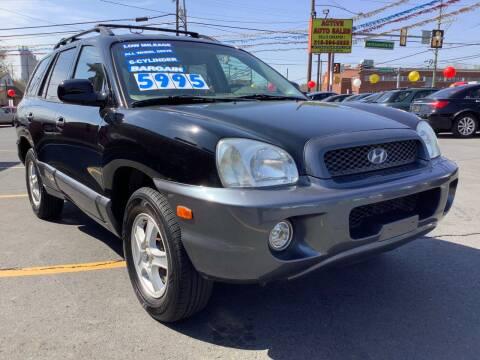 2004 Hyundai Santa Fe for sale at Active Auto Sales in Hatboro PA