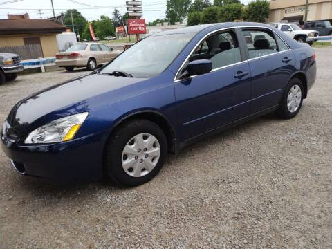 2003 Honda Accord for sale at Easy Does It Auto Sales in Newark OH