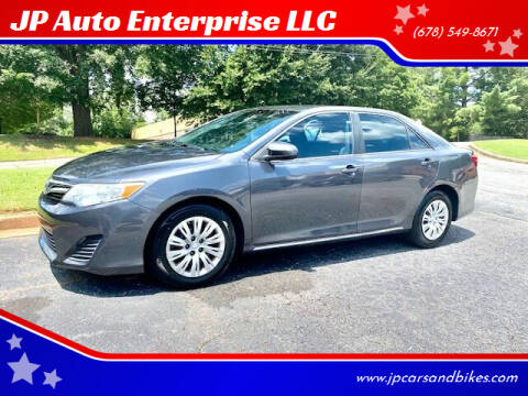 2013 Toyota Camry for sale at JP Auto Enterprise LLC in Duluth GA