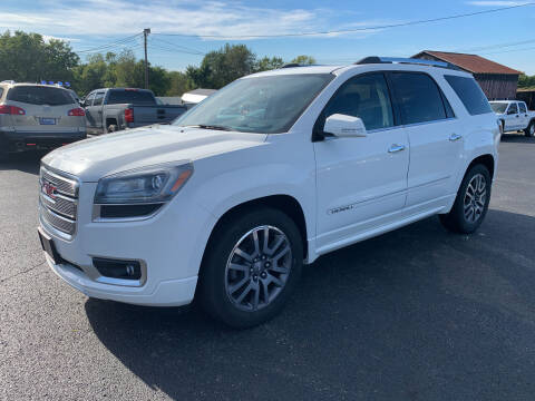2013 GMC Acadia for sale at Todd Nolley Auto Sales in Campbellsville KY