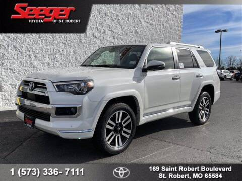 2021 Toyota 4Runner for sale at SEEGER TOYOTA OF ST ROBERT in St Robert MO