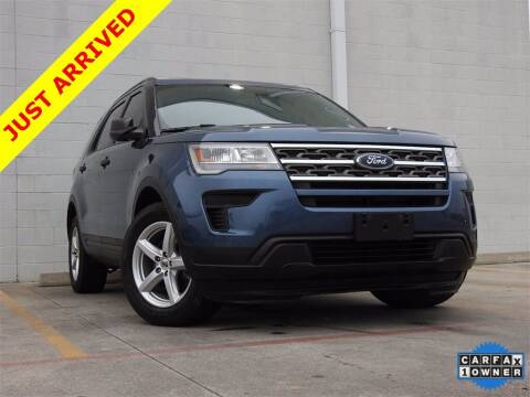2019 Ford Explorer for sale at Joe Myers Toyota PreOwned in Houston TX