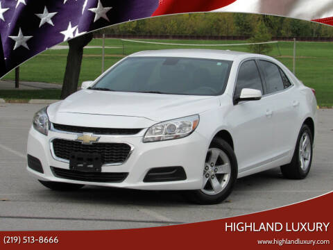 2015 Chevrolet Malibu for sale at Highland Luxury in Highland IN