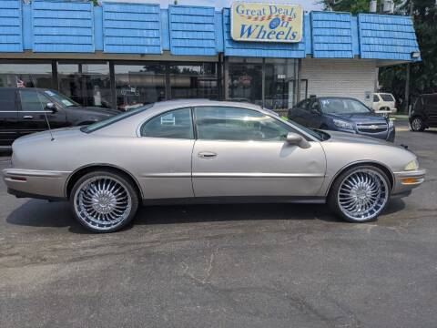 1997 Buick Riviera for sale at GREAT DEALS ON WHEELS in Michigan City IN