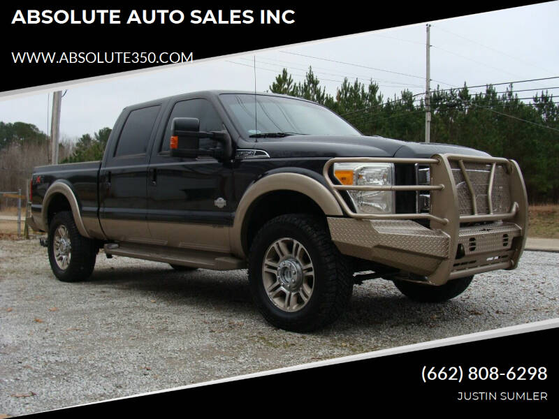 2011 Ford F-250 Super Duty for sale at ABSOLUTE AUTO SALES INC in Corinth MS