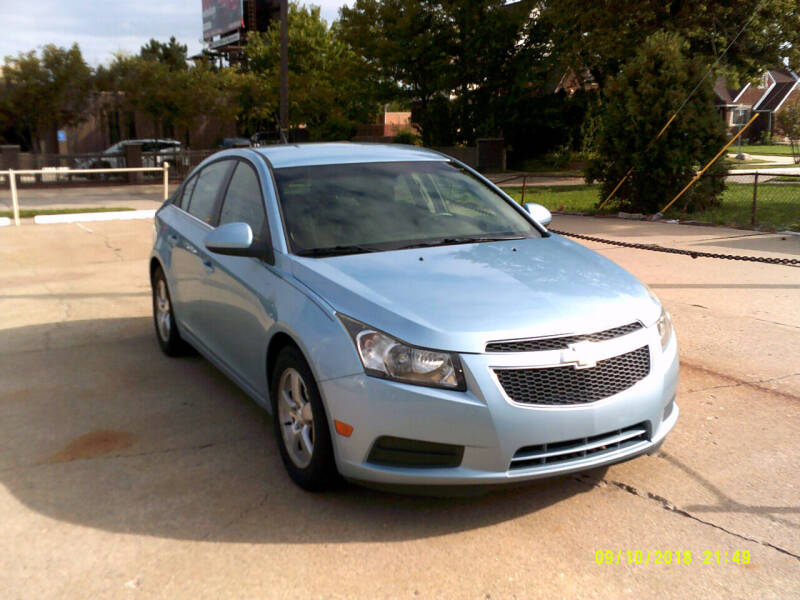 2012 Chevrolet Cruze for sale at Fred Elias Auto Sales in Center Line MI