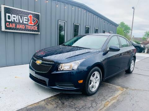 2011 Chevrolet Cruze for sale at Drive 1 Car & Truck in Springfield OH