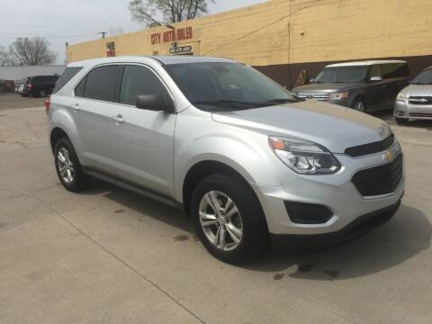 2016 Chevrolet Equinox for sale at City Auto Sales in Roseville MI