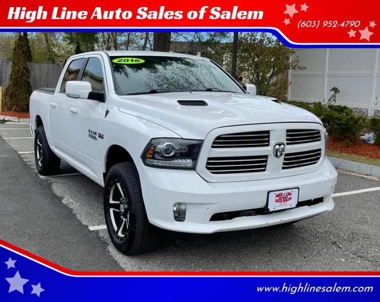 2016 RAM Ram Pickup 1500 for sale at High Line Auto Sales of Salem in Salem NH