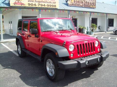2015 Jeep Wrangler Unlimited for sale at LONGSTREET AUTO in Saint Augustine FL