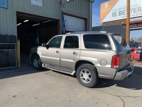 2003 Cadillac Escalade for sale at Highbid Auto Sales & Service in Arvada CO