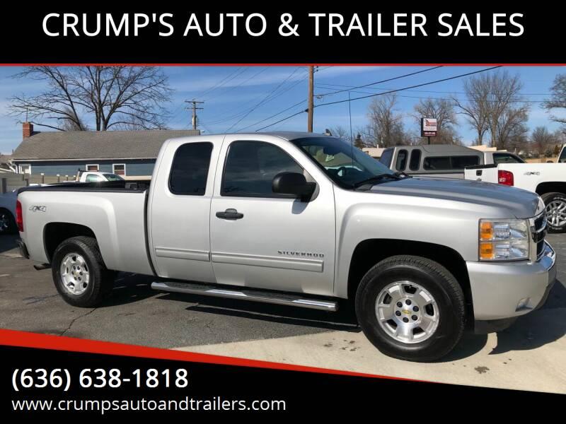 2011 Chevrolet Silverado 1500 for sale at CRUMP'S AUTO & TRAILER SALES in Crystal City MO