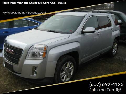 2011 GMC Terrain for sale at Mike and Michelle Stolarcyk Cars and Trucks in Whitney Point NY