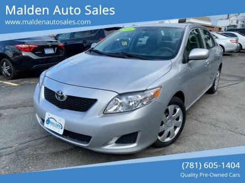 2010 Toyota Corolla for sale at Malden Auto Sales in Malden MA