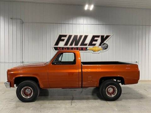 1986 Chevrolet C/K 10 Series for sale at Finley Motors in Finley ND