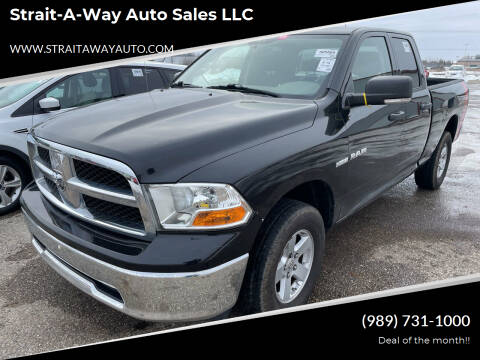2009 Dodge Ram Pickup 1500 for sale at Strait-A-Way Auto Sales LLC in Gaylord MI