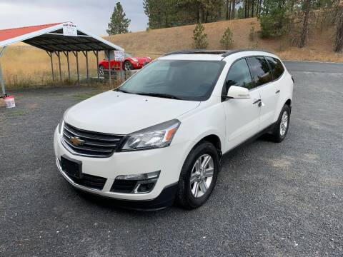 2013 Chevrolet Traverse for sale at CARLSON'S USED CARS in Troy ID