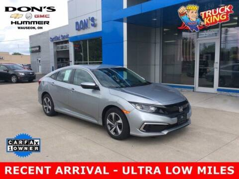 2020 Honda Civic for sale at DON'S CHEVY, BUICK-GMC & CADILLAC in Wauseon OH